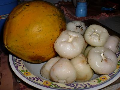 assorted asian fruits